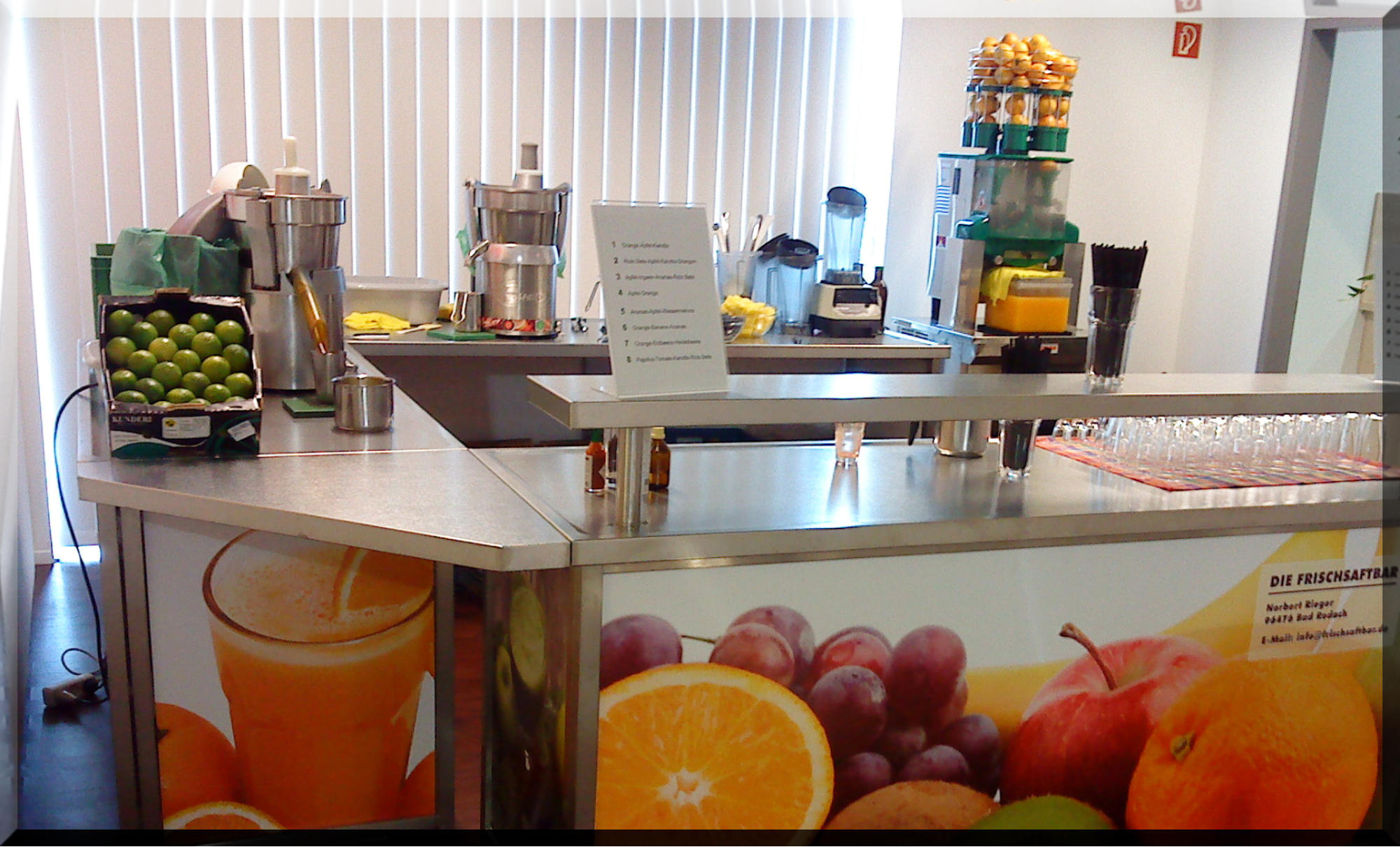 die Saftbar ~ Geschirrspülmaschine Wasseranschluss